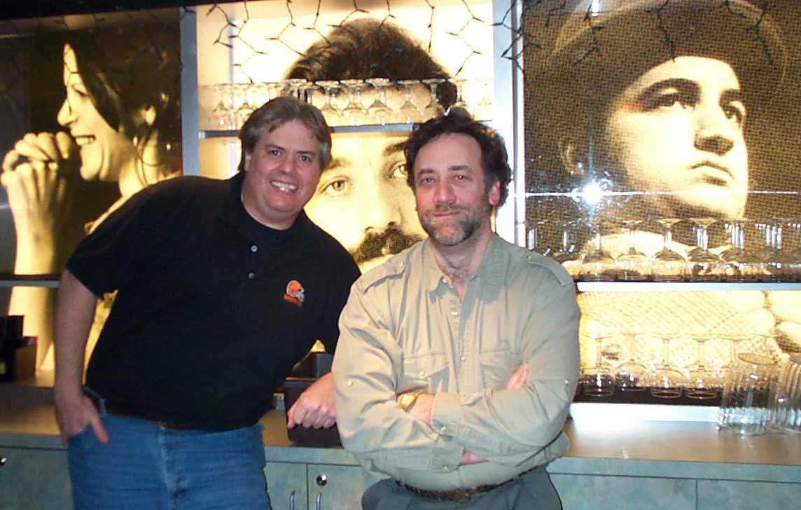 Bob and Dan at 2nd City